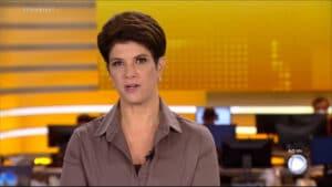 Imagem da apresentadora Mariana Godoy no telejornal Fala Brasil