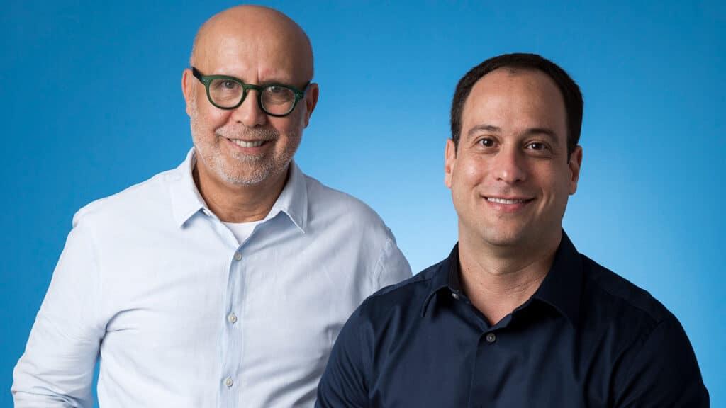 Imagem dos executivos Jorge Nóbrega e Paulo Marinho
