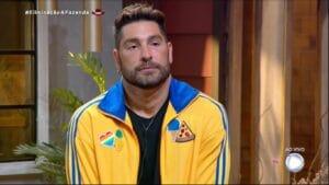 Victor Pecoraro foi o eliminado de A Fazenda 13