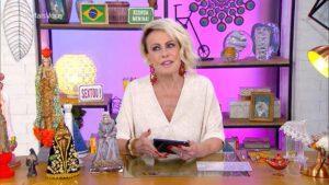 Foto da apresentadora Ana Maria Braga
