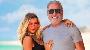 A modelo Ana Paula Siebert e o empresário Roberto Justus