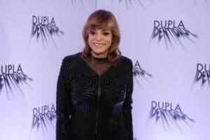Gloria Perez em evento de lançamento da série Dupla Identidade