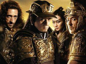 Cena do filme Batalha dos Impérios, do Cinemaço