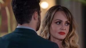 Imagem da atriz Gabriela Spanic em cena da novela Se Nos Deixam, que será exibida pelo SBT