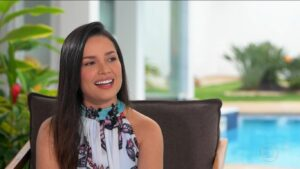 Juliette Freire em entrevista para o Globo Repórter