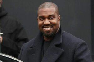 Foto do cantor Kanye West