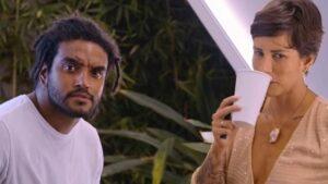 Mackdavid e Fernanda em cena de Casamento às Cegas