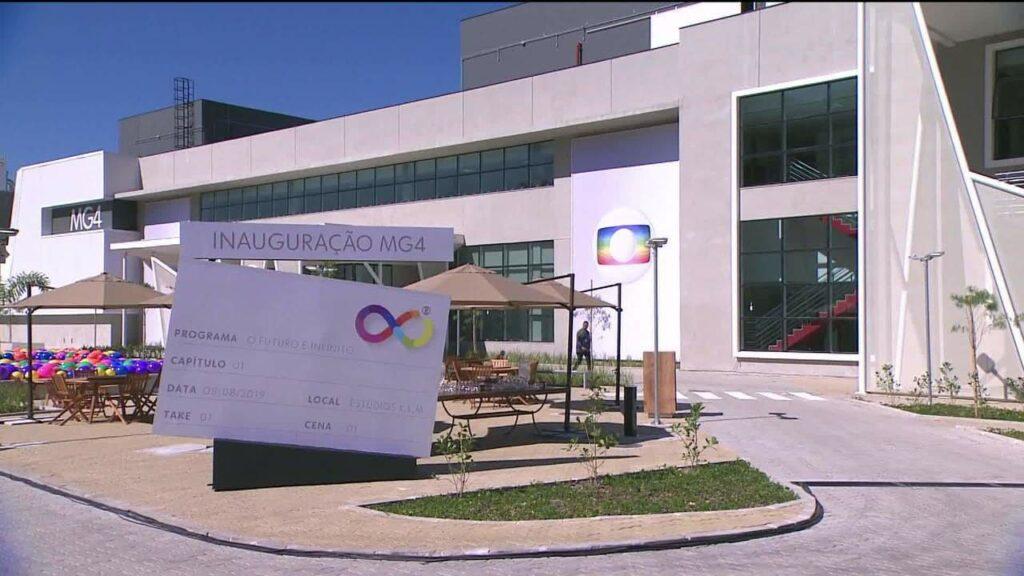 Foto do Módulo de Gravação 4, o MG4, da Globo Rio
