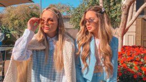 As irmãs Nadine e Agnes Olson