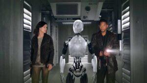 Cena do filme Eu, Robô, que a Globo exibirá na Sessão da Tarde