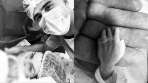 Filho mais novo de Willian Bigode morreu na barriga da mãe